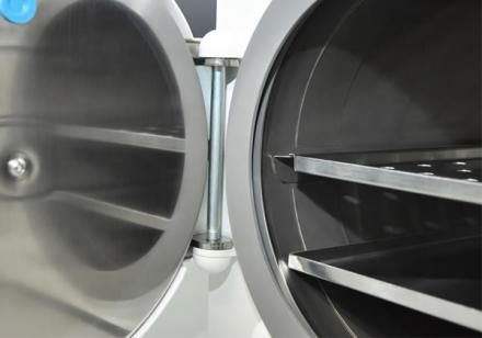 AUTOCLAVE HORIZONTAL 60 LTS ANALOGICO