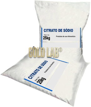 CITRATO DE SODIO 25 KG - IN VITRO