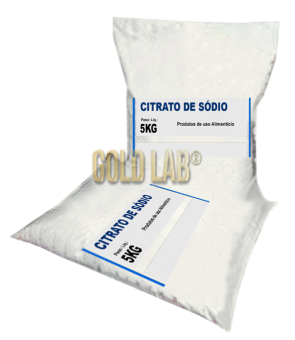 CITRATO DE SODIO 5 KG - IN VITRO